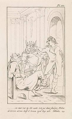 King Midas With Donkey Ears, Danil Veelwaard Poster by Dani?l Veelwaard (i) And Jacob Smies And Fran?ois Bohn
