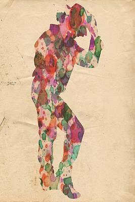King Of Pop In Concert No 12 Poster by Florian Rodarte