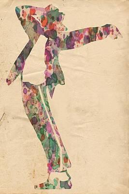 King Of Pop In Concert No 13 Poster by Florian Rodarte