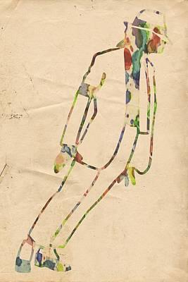 King Of Pop In Concert No 4 Poster
