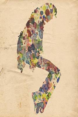 King Of Pop In Concert No 9 Poster