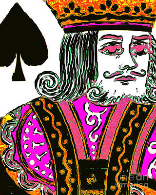 King Of Spade 20140812 Poster by Wingsdomain Art and Photography