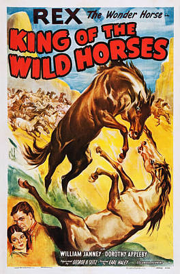 King Of The Wild Horses, Us Poster Art Poster