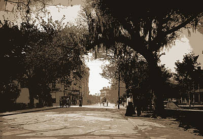 King Street, St. Augustine, Jackson, William Henry Poster by Litz Collection