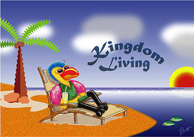 Kingdom Living Poster by Jerry Ruffin