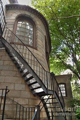 King's Chapel Staircase Poster by Deborah Smolinske