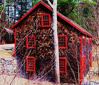 Kingsbury Grist Mill Poster by Marcus Dagan