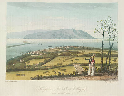 Kingston And Port Royal Poster by British Library