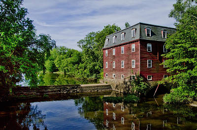 Kingston Mill Near Princeton New Jersey Poster by Bill Cannon