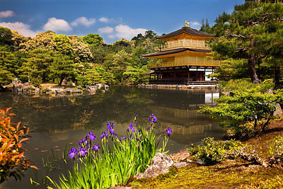 Poster featuring the photograph Kinkaku-ji by Brad Brizek