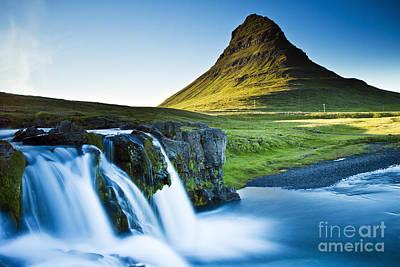 Kirkjufell Mountain Poster by Gunnar Orn Arnason