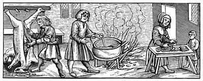 Kitchen, 1518 Poster