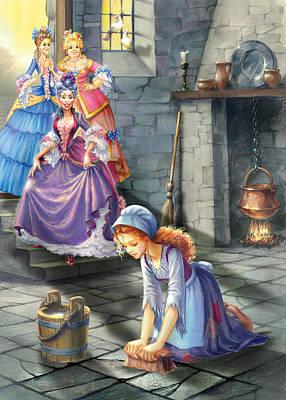 Kitchen Chores Poster