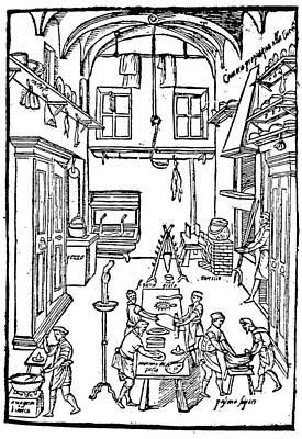 Kitchen Scene, 1605 Poster by Granger