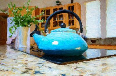 Kitchen Tea Pot Poster
