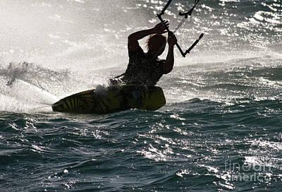 Kite Surfer 02 Poster
