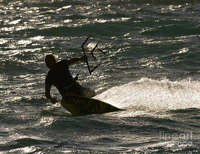Kite Surfer 03 Poster