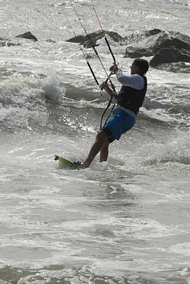 Kite Surfing 60 Poster
