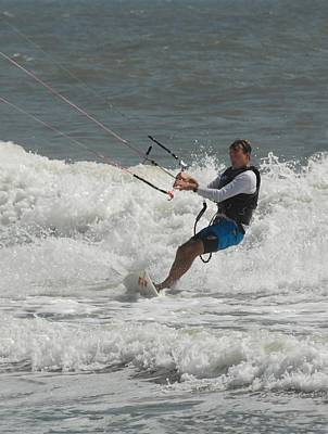 Kite Surfing 62 Poster