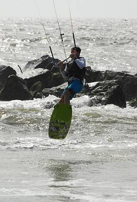 Kite Surfing 63 Poster