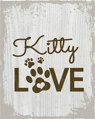 Kitty Love Poster