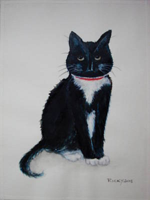 Kitty - Painting Poster by Veronica Rickard