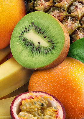 Kiwi And Banana Poster