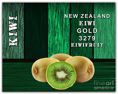 Kiwi Farm Poster by Marvin Blaine