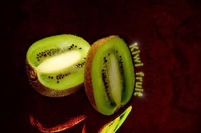 Kiwi Fruit Poster by Toppart Sweden