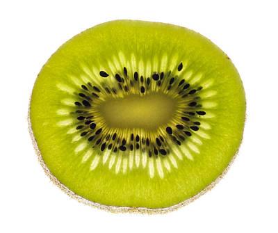 Kiwi Slice Poster