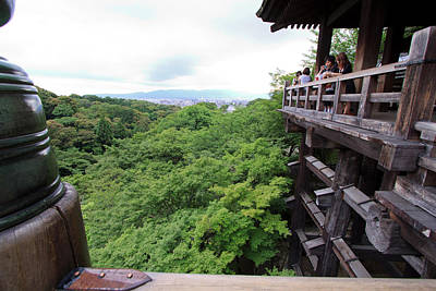 Kiyomizudera Temple Is One Of Kyoto's Poster by Paul Dymond