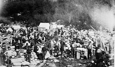 Klondike Gold Rush, 1897 Poster by Granger