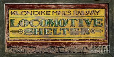 Klondike Mines Railway Poster by Priska Wettstein