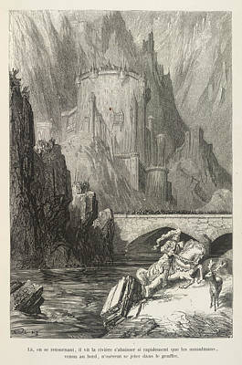 Knight Pursued Poster by British Library
