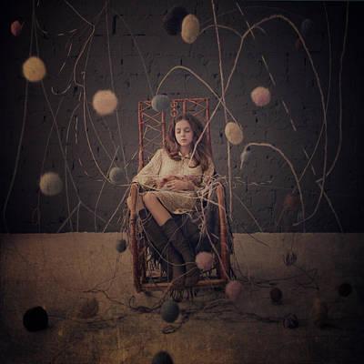 Knitting In November Poster