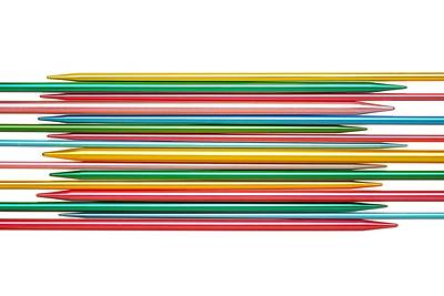 Knitting Needles Poster by Jim Hughes