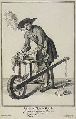 Knives Or Cifers To Grinde Poster by British Library