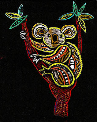 Koala Poster by Leon Zernitsky