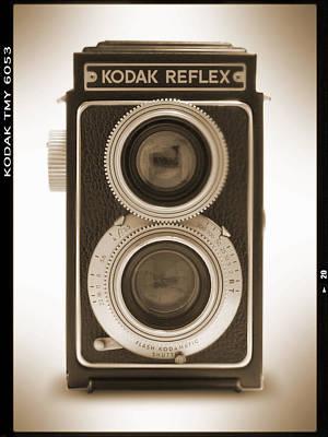 Kodak Reflex Camera Poster by Mike McGlothlen