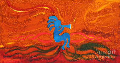 Kokopelli Poster by Anderson R Moore