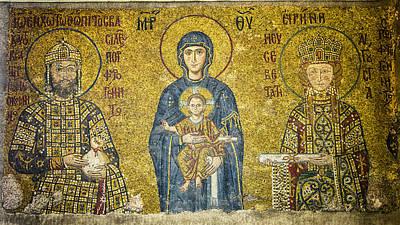 Komnenos Mosaic Poster