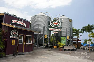Kona Brewing Company Poster by Jason O Watson