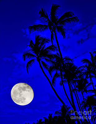 Kona Moon Rising Poster