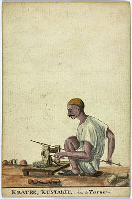 Kratee Poster by British Library