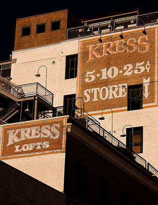 Kress Ghost Signs By Denise Dube Poster