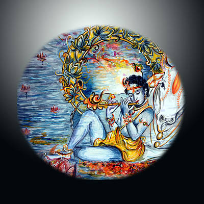Krishna 1 Poster by Harsh Malik
