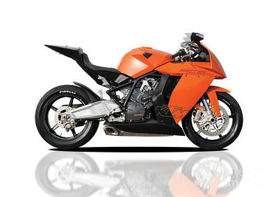 Ktm Rc8 Poster