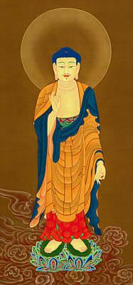 Kuan Yin Bodhisattva Poster by Lanjee Chee