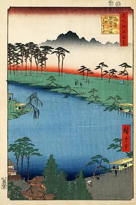 Kumanojunisha Shrine Poster