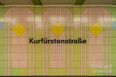 Kurfurstenstrasse Poster